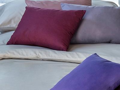 Cotton boudoir size shams
